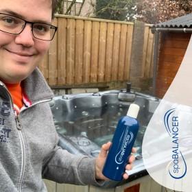 SpaBalancer machte die Wasserpflege des Whirlpools sehr einfach