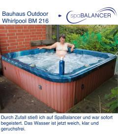 Erfahrung Outdoor Whirlpool BM 216 von Bauhaus