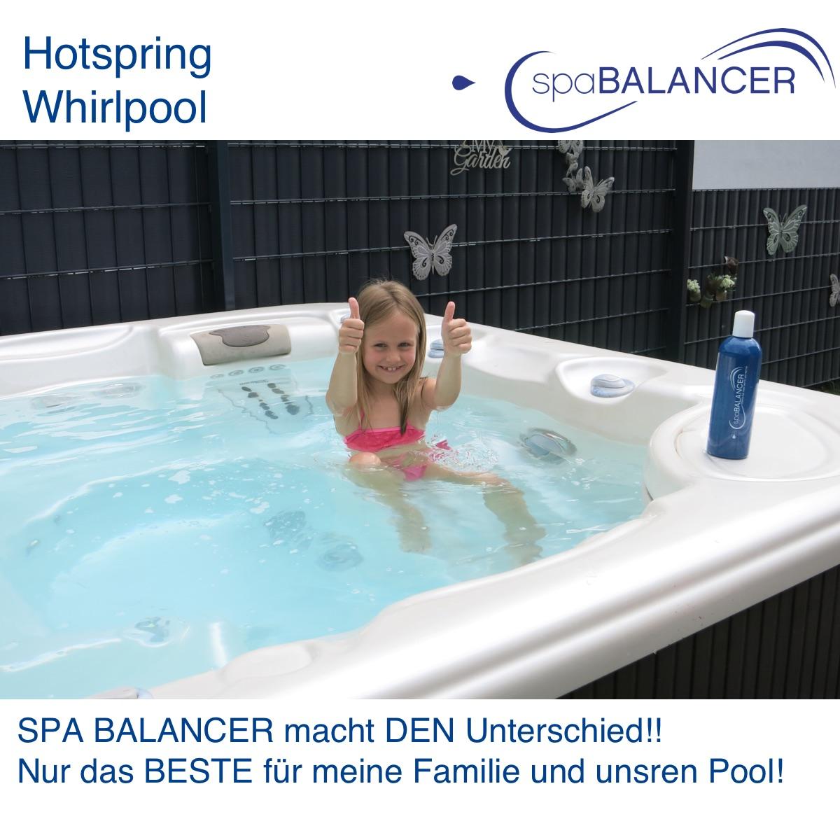 Bekannt Hotspring Whirlpool ohne Chlor | SpaBalancer VZ19