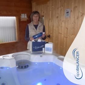 Klares Wasser noch 20 Monate nach Erstbefüllung des Whirlpools