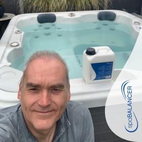 Wasserpflege mit SpaBalancer von Anfang an