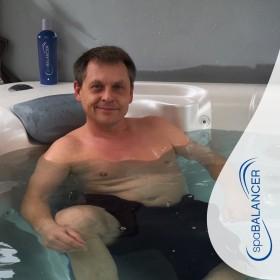 Das Wasser ist glasklar, der pH-Wert bleibt stabil, kein Jucken mehr nach dem Bad.