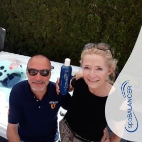 Klares Whirlpoolwasser ohne Chlor trotz täglicher Nutzung