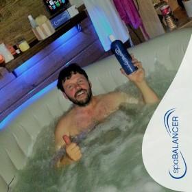 Viel länger sauberes Wasser im Intex Pure Spa Whirlpool