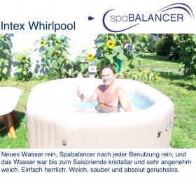 aufblasbarer Intex Whirlpool - Desinfizierung ohne Brom