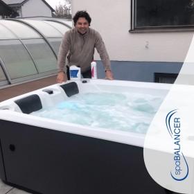 Trotz Ozonanlage Schwierigkeiten mit der Wasserqualität im Whirlpool
