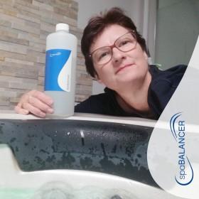 Gute Erfahrungen mit den Wasserpflege-Produkten von SpaBalancer