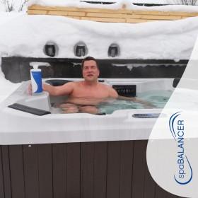 Ungetrübter Whirlpool-Genuss auch im Winter dank SpaBalancer