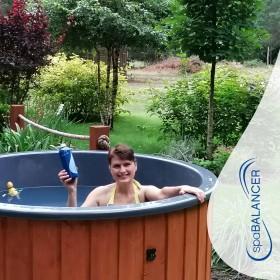 Einfache Handhabung, klares und weiches Wasser im Whirlpool