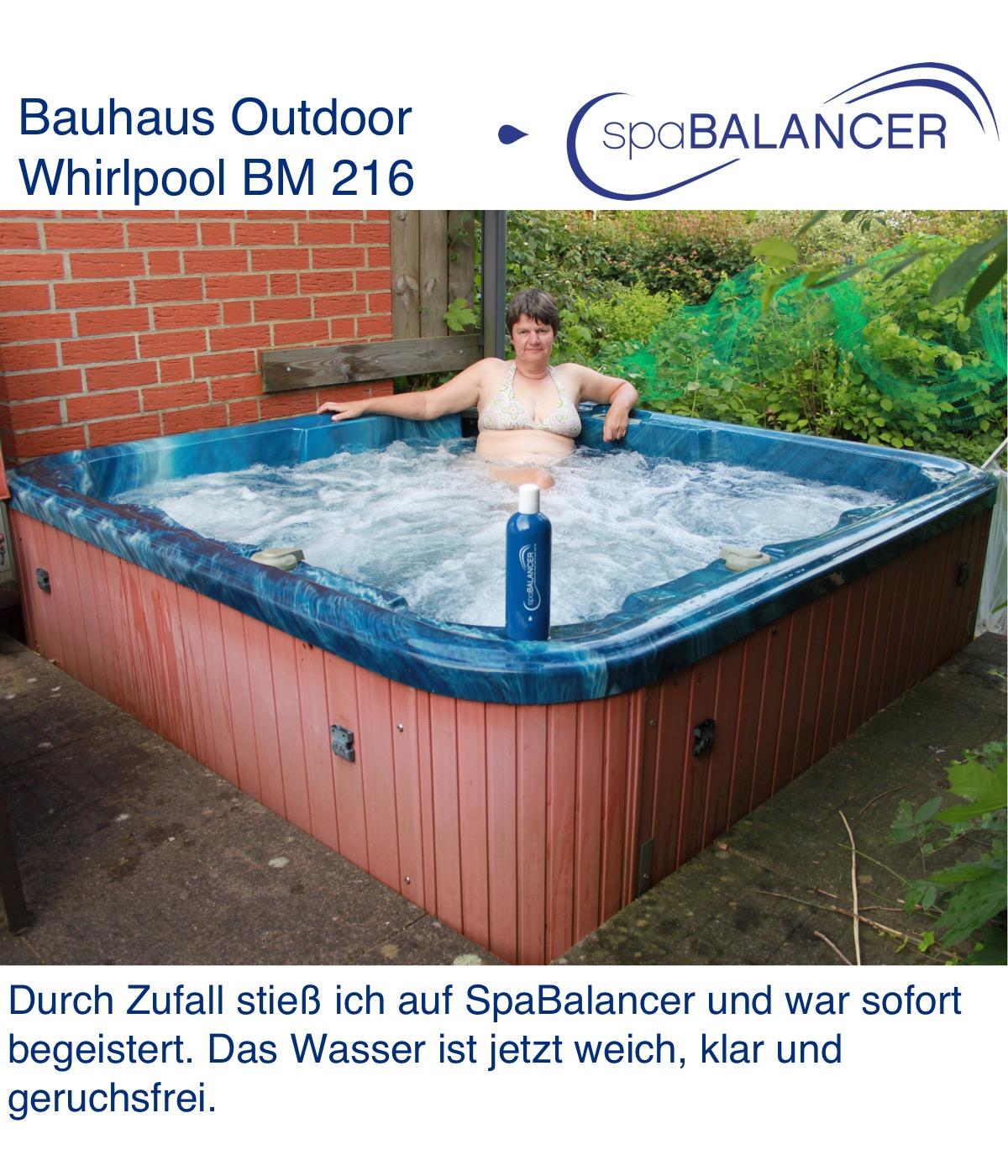 Erfahrung Outdoor Whirlpool BM 216 von Bauhaus | SpaBalancer