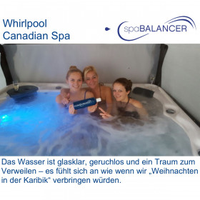 Erfahrung Whirlpool Canadian Spa und SpaBalancer