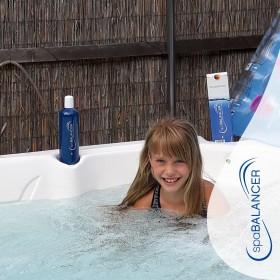 Effektive und sparsame Whirlpool-Wasserpflege mit SpaBalancer