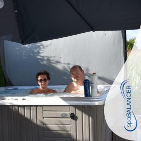 SpaBalancer Wasserpflege für Whirlpool Caldera Vacanza für sechs Personen
