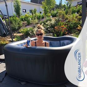SpaBalancer Wasserpflege für aufblasbaren Whirlpool MSpa Deluxe
