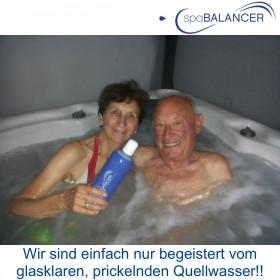 Whirlpool Canadian Spa ohne aggressives Chlor nur mit SpaBalancer