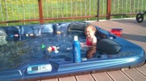 Aussen-Whirlpool Freestylespa Modell Roma