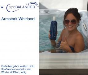Armstark Whirlpool ohne Chlor