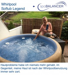 Whirlpool Softub Legend ohne Chlor