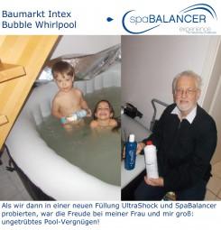 Baumarkt Intex Bubble Whirlpool - Empfehlung SpaBalancer