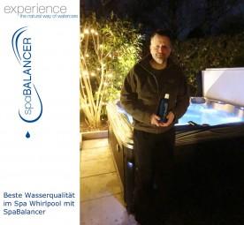 Beste Wasserqualität im Spa Whirlpool mit SpaBalancer