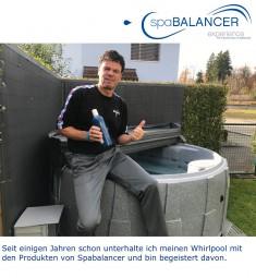 Einfache Wasserpflege mit SpaBalancer
