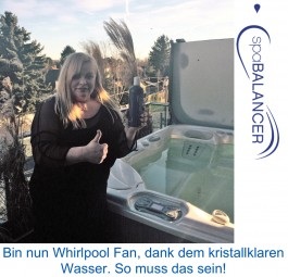 HotSpring Limelight Whirlpool mit ACE Reinigungssystem