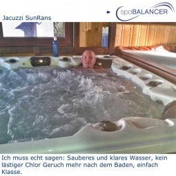 Whirlpool Jacuzzi SunRans und SpaBalancer
