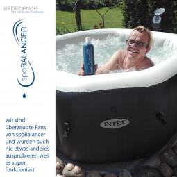 Keine Haut und Augenreizungen nach Whirlpool Bad