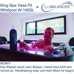 King-Spa Vasa Fit Whirlpool W-195SL
