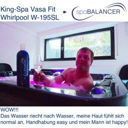 King-Spa Vasa Fit Whirlpool W-195SL