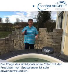 Pflege Whirlpool ohne Chlor