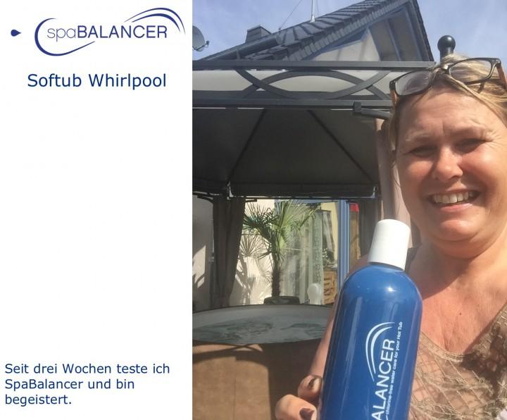 Softub whirlpool ohne chlor empfehlungen spabalancer for Gartenpool ohne chlor