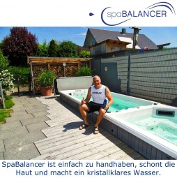 Swimspa Lotus 4 ohne Chlor