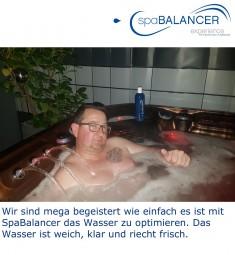 Wasserpflege mit SpaBalancer optimieren