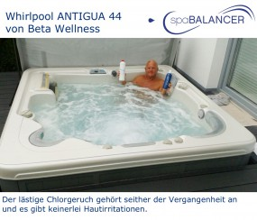 Whirlpool ANTIGUA 44 von Beta Wellness