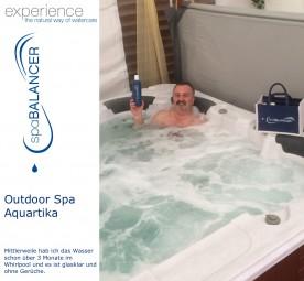 Whirlpool Aquartika HT-1600 Outdoor Spa - Desinfektion ohne Chlor