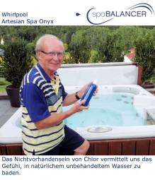 Whirlpool Artesian Spa Onyx von Beta Pools