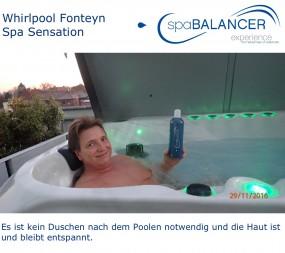 Whirlpool Fonteyn Spa Sensation chlorfrei