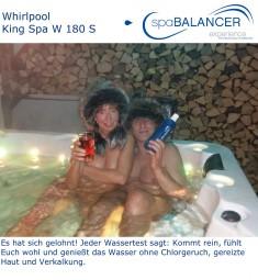 Whirlpool King Spa W 180 S - Wasseraufbereitung ohne Chlor