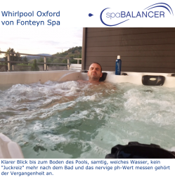 Erfahrung Whirlpool Oxford von Fonteyn Spa