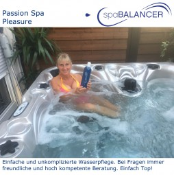 Whirlpool Passion Spa Pleasure - Wasserpflege ohne Chlor