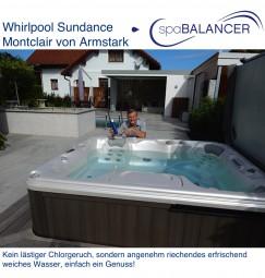 Whirlpool Sundance Montclair - Kein Chlor, kein lästiger Chlorgeruch