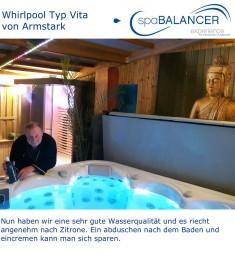 Whirlpool Typ Vita von Armstark - Reinigung ohne Chlor