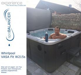 Whirlpool VASA Fit W215s - Wasserpflege chlorfrei