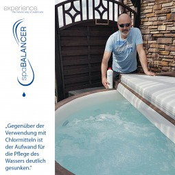 SpaBalancer Whirlpool Wasserpflege mit geringem Aufwand
