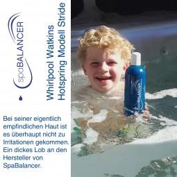Wasserpflege ohne Chlor - Whirlpool Watkins Hotspring Modell Stride