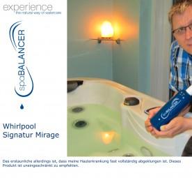 Whirlpool der Marke Signatur Mirage - Whirlpoolpflege chlorfrei