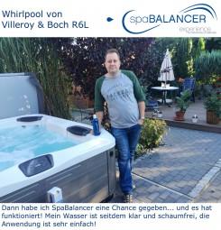 Whirlpool von Villeroy & Boch R6L - chlorfreie Wasserpflege