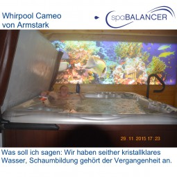 Whirlpool Cameo - kristallklares Wasser ohne Chlor