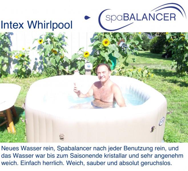 aufblasbarer whirlpool salzwasser